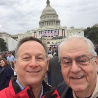 Lamb McErlane PC managing partner Joel Frank and senior partner James McErlane in Washington, DC on inauguration day!
